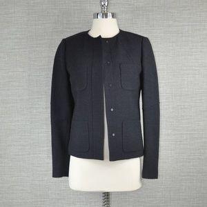 NWT Vince Navy Blue Wool Blazer - 2